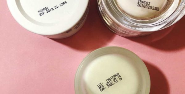 expired face products